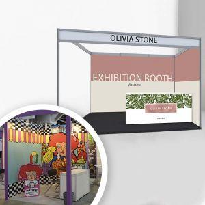 [工程] L 型展覽攤位製作套餐