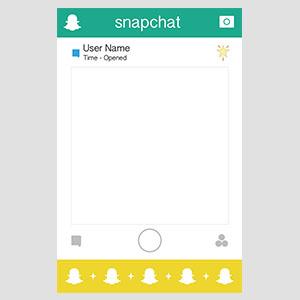 SnapChat道具相框